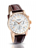 SEKONDA 3063 Sports Rose Chronograph Classique Stopwatch 30m Watch
